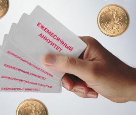 Аннуитетный метод погашения кредита